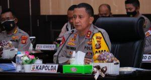 Kapolda Sumsel Irjen Pol Prof Dr Eko Indra Heri S MM
