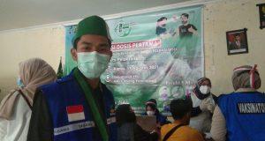 Cabang Palembang bersama Biddokes Polda Sumsel menggelar vaksinasi Covid-19 secara gratis