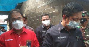PT Telkom Indonesia (Persero) Tbk Witel Sumsel ikut membantu program Bedah Rumah Pemerintah Provinsi Sumatra Selatan, Kamis (19/8)