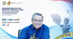 Dr. Perry Warjiyo secara aklamasi kembali terpilih sebagai Ketua Umum Ikatan Sarjana Ekonomi Indonesia (ISEI) periode 2021-2024